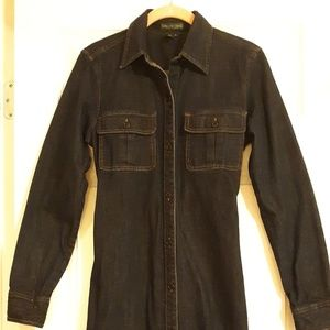 Ralph Lauren Denim Shirt-dress